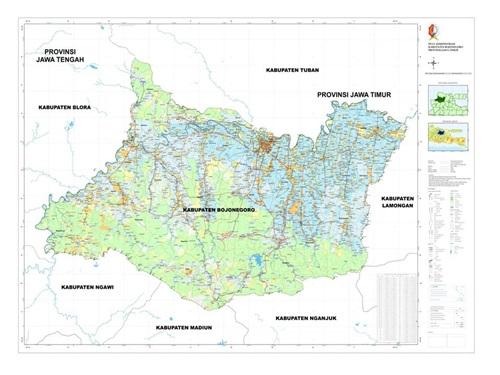 Wilayah Administrasi<BR>Kabupaten Bojonegoro